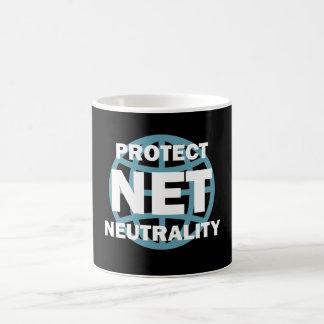 Caneca De Café Proteja a neutralidade líquida