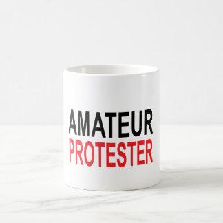 Caneca De Café Protestador amador