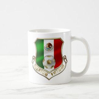 Caneca De Café Protetor do futebol do emblema do crachá do