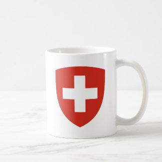 Caneca De Café Protetor suíço da brasão