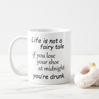 Caneca De Café Provérbios engraçados do humor da piada da