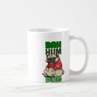 Caneca De Café Pug do zumbido de Bah