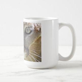 Caneca De Café Puma que olha o