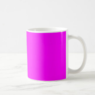 Caneca De Café purple fuchsia Vit 325 ml Klassisk vit mugg