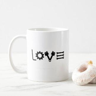 Caneca De Café Puxar do amor