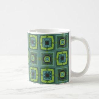 Caneca De Café Quadril a ser verde
