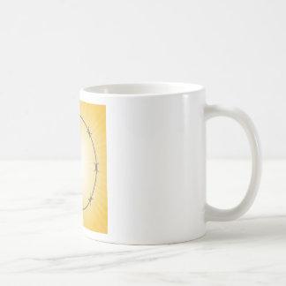 Caneca De Café quadro do arame farpado