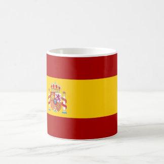 Caneca De Café Qualidade da bandeira da espanha