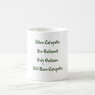 Caneca De Café Quando as catapultas Outlawed