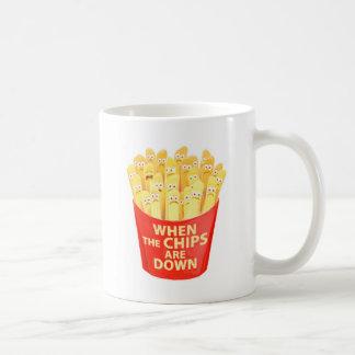 Caneca De Café Quando as microplaquetas estiverem abaixo de…
