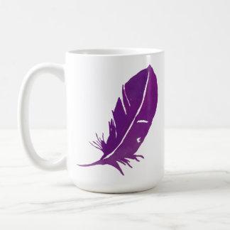 Caneca De Café Quando as penas aparecerem anjos estão próximo -