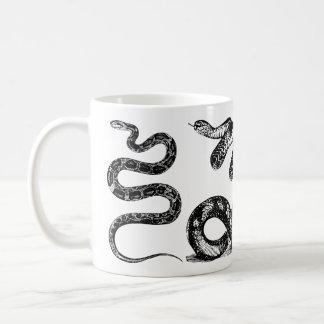 Caneca De Café Quatro cobras gráficos