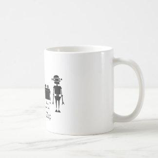 Caneca De Café Quatro robôs