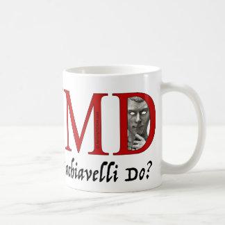 Caneca De Café Que Machiavelli faria?