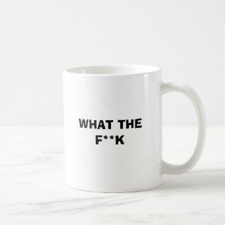 CANECA DE CAFÉ QUE O F ** K