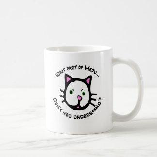 Caneca De Café Que parte do Meow…