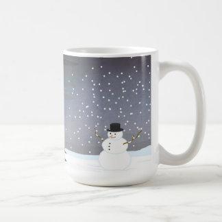 Caneca De Café Queda ao inverno