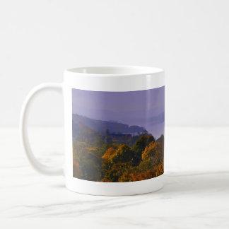 Caneca De Café Queda panorâmico do Rio Hudson