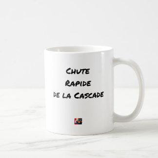 Caneca De Café QUEDA RÁPIDA da CASCATA - Jogos de palavras