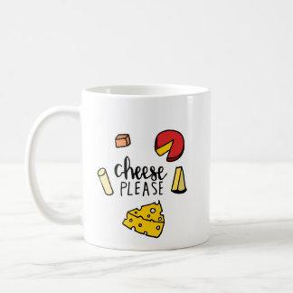 Caneca De Café Queijo por favor