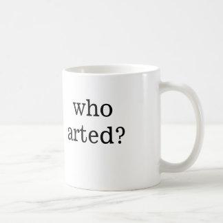 Caneca De Café quem arted?