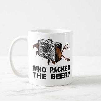 Caneca De Café Quem embalou a cerveja?
