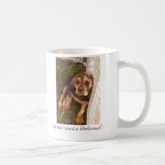 Caneca De Café Quem pode resistir um bloodhound?