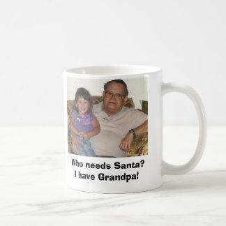 Caneca De Café Quem precisa o papai noel?