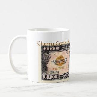 Caneca De Café quem quer ser uns $100.000 aire