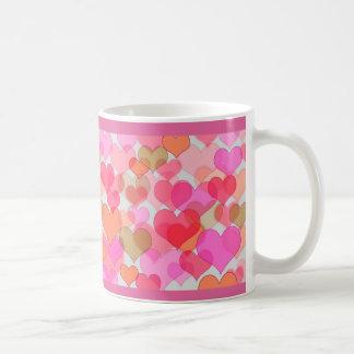 Caneca De Café Querido romântico dos namorados do amor do dia dos