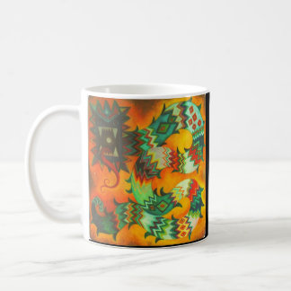 Caneca De Café Quetzalcoatl impetuoso