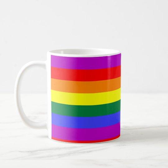 Caneca De Café Rainbow