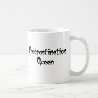 Caneca De Café Rainha da procrastinação