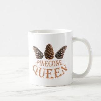 Caneca De Café Rainha do cone do pinho