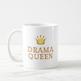 Caneca De Café Rainha do drama