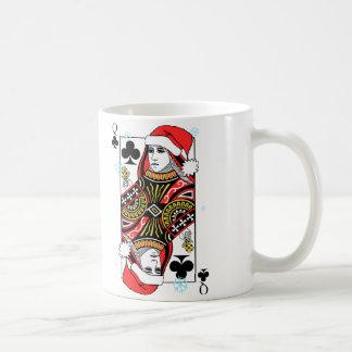 Caneca De Café Rainha do Feliz Natal dos clubes