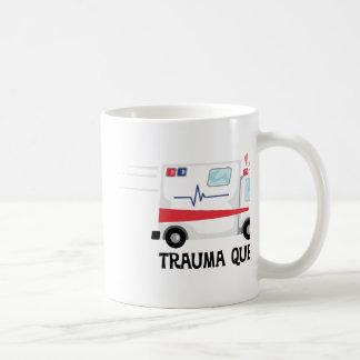 Caneca De Café Rainha do traumatismo
