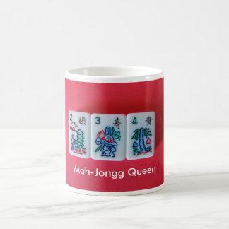 Caneca De Café Rainha Mah-Jongg