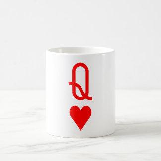 Caneca De Café Rainha original do dia dos namorados do símbolo
