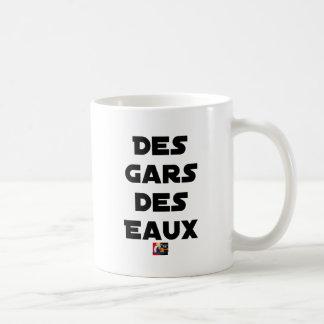 Caneca De Café Rapazes das Águas - Jogos de Palavras - François