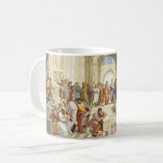 Caneca De Café Raphael - A escola de Atenas 1511