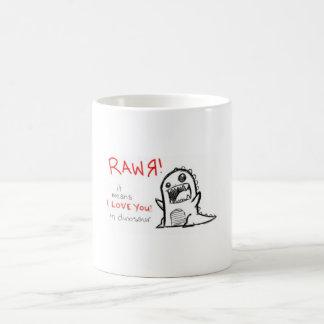 CANECA DE CAFÉ RAWR