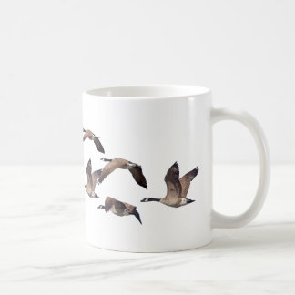 Caneca De Café Rebanho de gansos selvagens