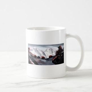 Caneca De Café Rebanho de iaques Himalaya da montanha