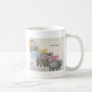 Caneca De Café Rebanho dos hipopótamos?