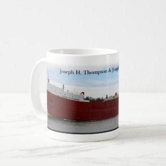 Caneca De Café Reboque de Joseph H Thompson/caneca da barca