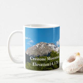 Caneca De Café Recordações de Crestone Colorado * montanha de
