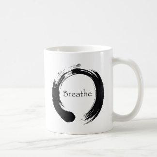 Caneca De Café Recorde respirar!