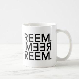 Caneca De Café Reem.