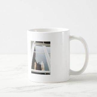 Caneca De Café Reflexão holandesa da janela da fotografia